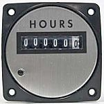 Yokogawa 240711AAAD7JBP - ELAPSED TIME 3 1/2 60HZRating- 120 V/AC, 60 Hz, 3.0WScale- HOURS NON-RESETLegend- STEWART & STEVENSON LOGO - Product Image