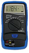 AEMC Model MX21[Catalog No. 2119.21]Digital Multimeter (2000-count, average sensing, 1% accuracy with holster) - Product Image