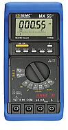 AEMC Model MX55[Catalog No. 2116.71]Digital Multimeter (50,000-count, TRMS, 0.025% Accuracy, with Holster) - Product Image