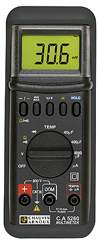 AEMC Model CA5260[Catalog No. 2116.78]Digital Multimeter (4,000-count, Average Sensing, 1% Accuracy) - Product Image