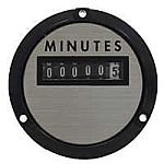 Yokogawa 240631AEAE - TIME METER - HOURS NON-RESETRating- 208/240 V/AC, 50 Hz, 3.0WScale- HOURS NON-RESETLegend-  - Product Image