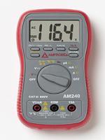 Amprobe AM-240 Autoranging Multimeter with TemperatureManufacturer Part Number: 2730933 - Product Image