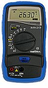 AEMC Model MX23[Catalog No. 2119.23]Digital Multimeter (5000-count, TRMS, 0.3% accuracy, with holster) - Product Image
