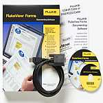 Fluke FVF-SC4 FLUKEVIEW FORMS SOFTWARE W/CABLE FOR 8845/8846Manufacturer Part Number: 2687335 - Product Image