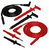 Lead Kit No. 1 ([2] 5 ft Safety Leads (1000V), [2] Safety Test Probes, [2] Safety Grip Probes)  Catalog Number 2111.28 - Product Image
