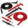 Lead Kit No. 1 ([2] 5 ft Safety Leads (1000V), [2] Safety Test Probes, [2] Safety Grip Probes)  Catalog Number 2111.28 - Product Image